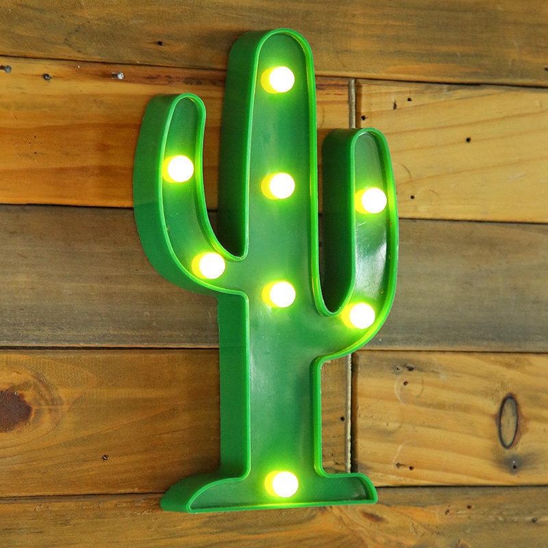 Led Cactus Decor
