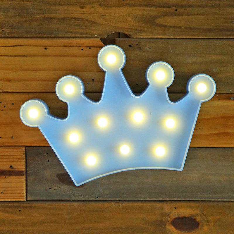 Led King Crown Wall Decor