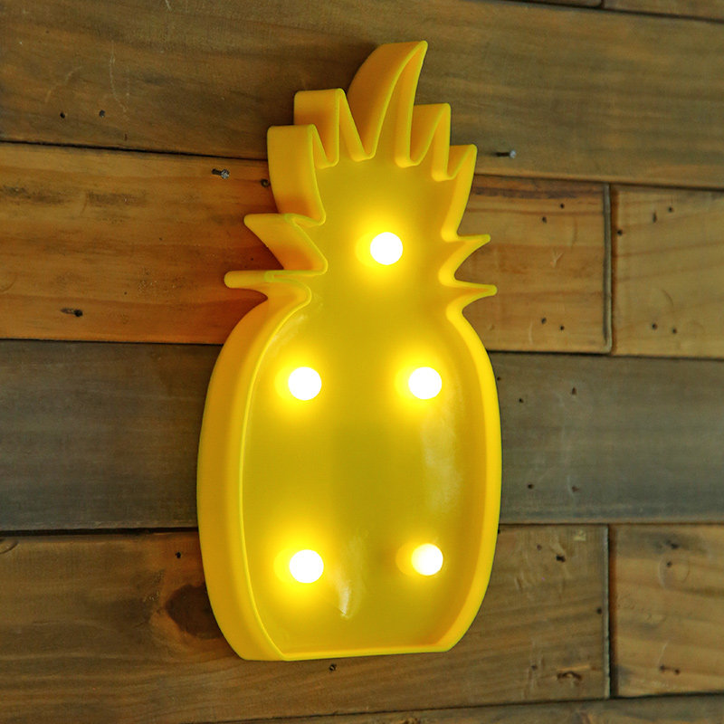 Led Pineapple Decor