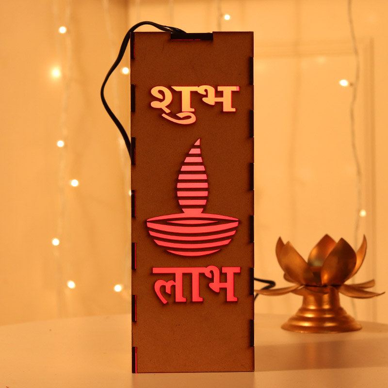 Led Shubh Labh Stand