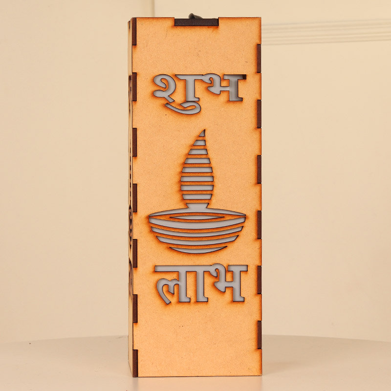 Led Shubh Labh Stand - A Perfect Gift For Diwali