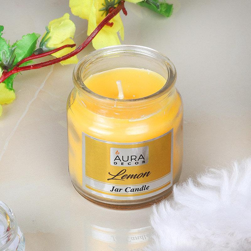 Lemon Jar Candle