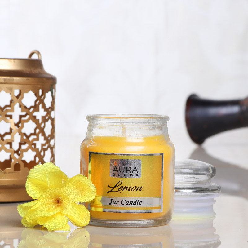 Lemon Jar Candle - A Perfect Fragrance Gift for her