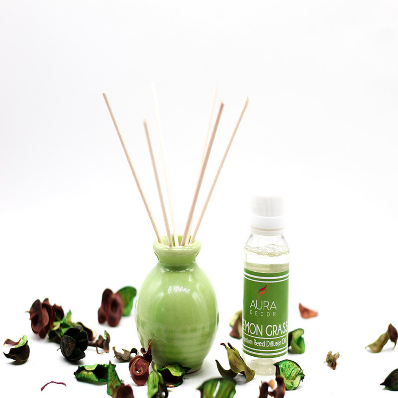 Reed Diffuser - A Product of Lemongrass Oil Diffuser Gift Set