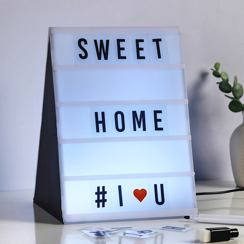 Light Message Box With Whiteboard