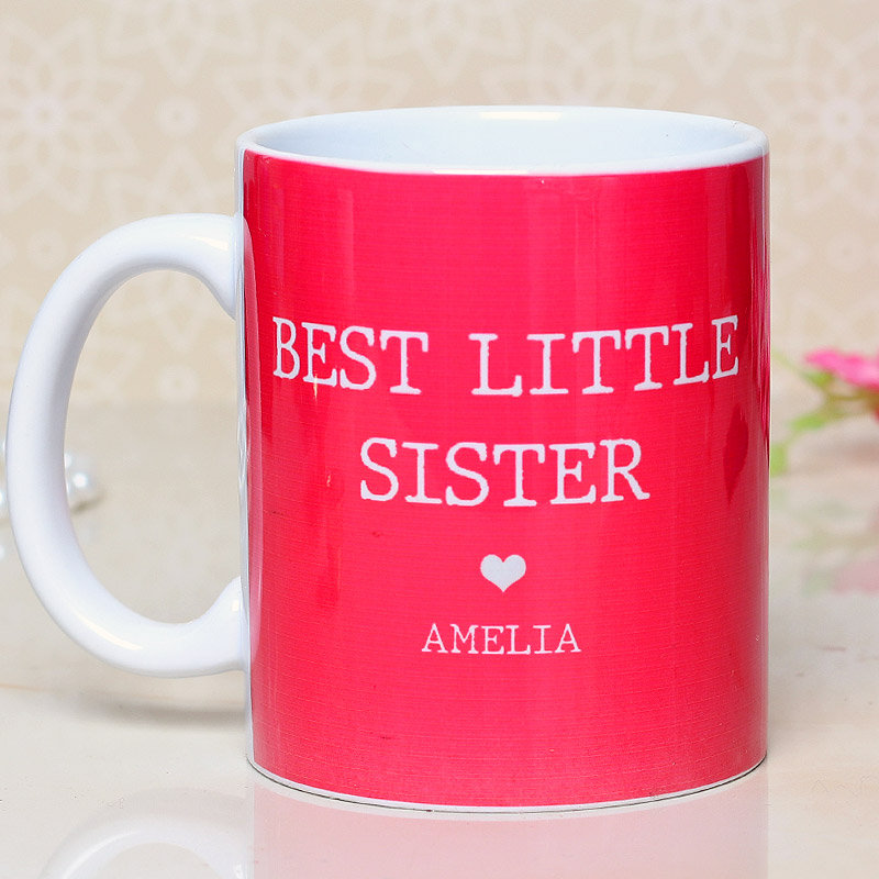 Personalised Mug for Sister