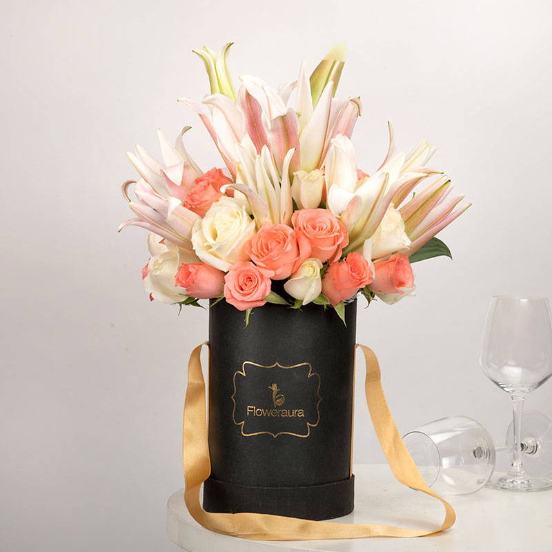 Lilies N Roses Bouquet