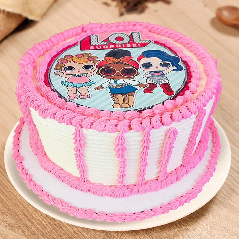 LOL Surprise Fondant Cake