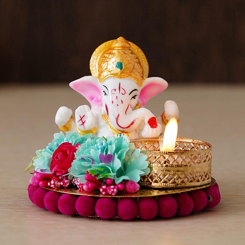 Lord Ganesha Decorative Idol