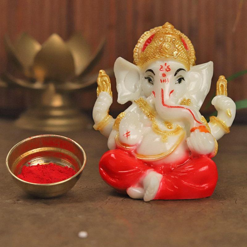 Designer Rakhi - Lord Ganesha Rakhi Combo