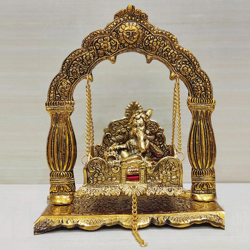Lord Krishna In Jhula