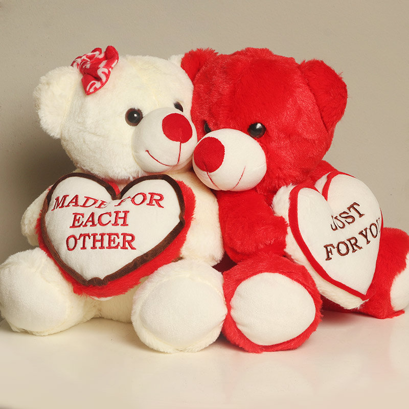 Made for Each Other Teddy Couple Valentine Gifts