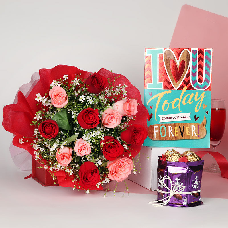 Love Blooms Gift Combo