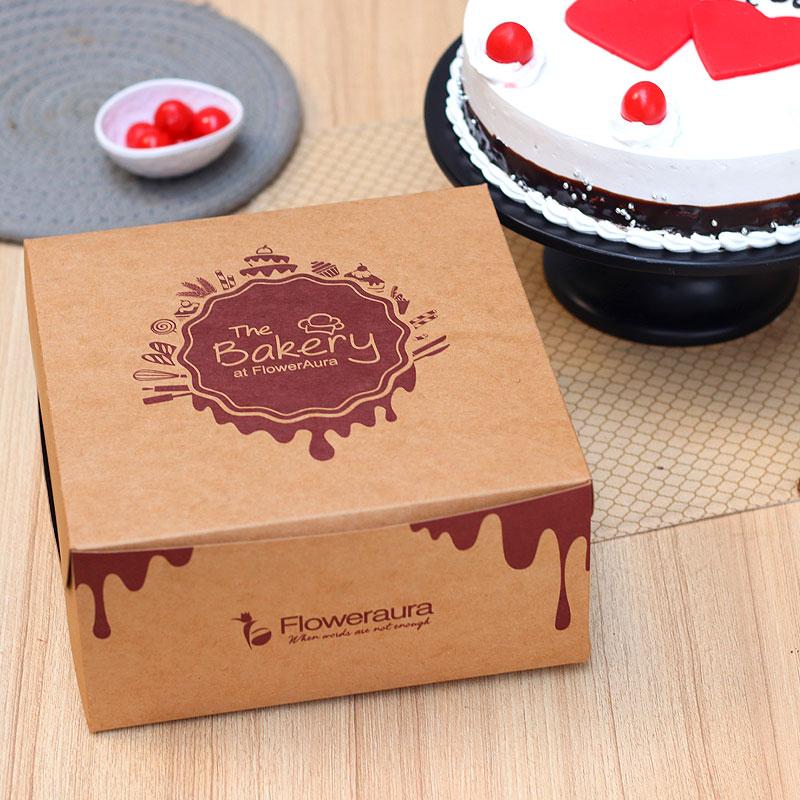 I Love You Cake in a Box