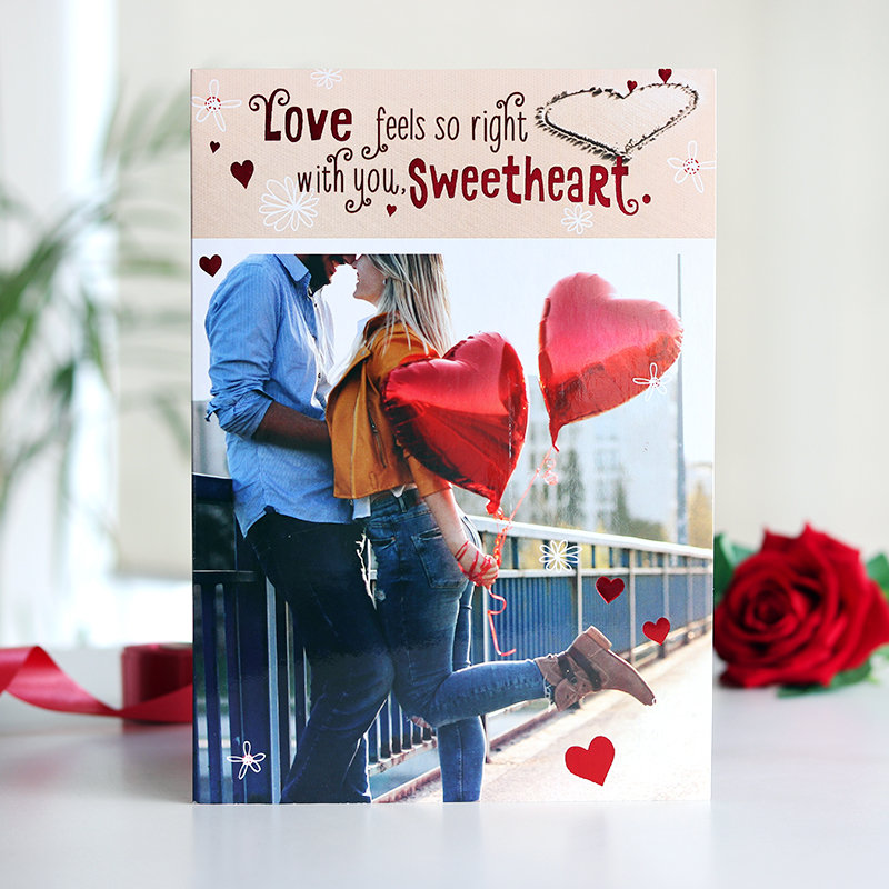 Valentine's Day Greeting Cards for Girlfriend