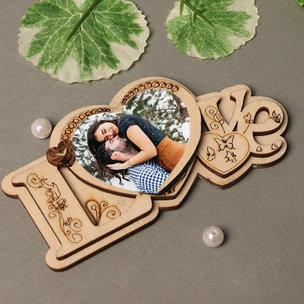 Love Personalised Fridge Magnet