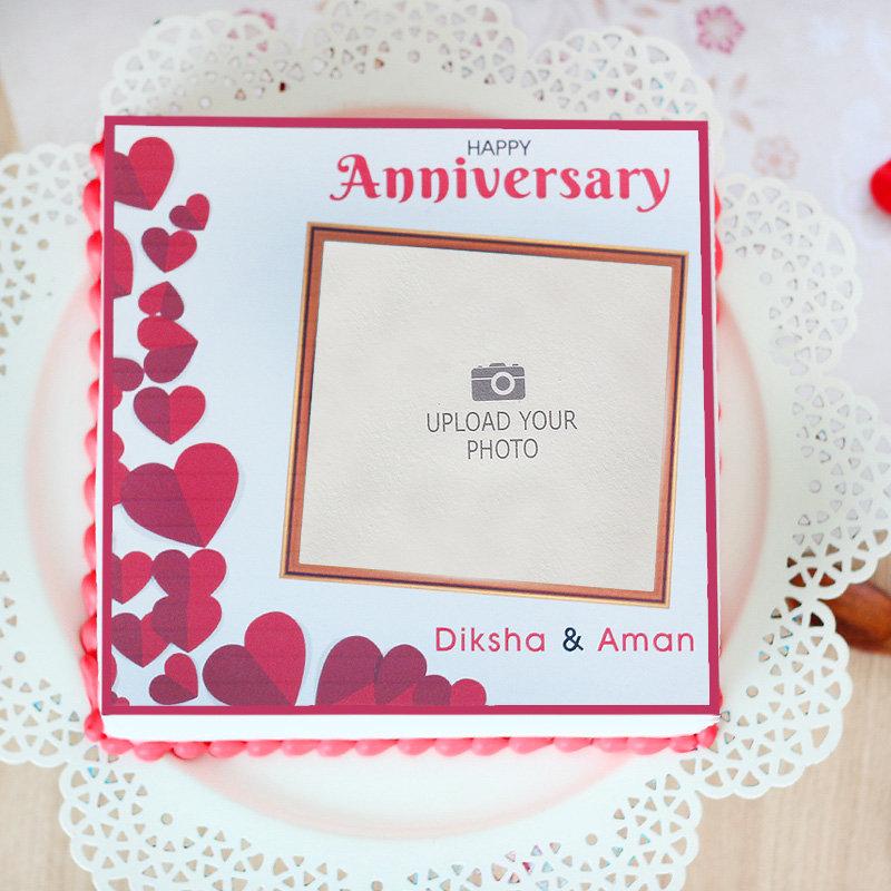 Splendid Love Cake Anniversary