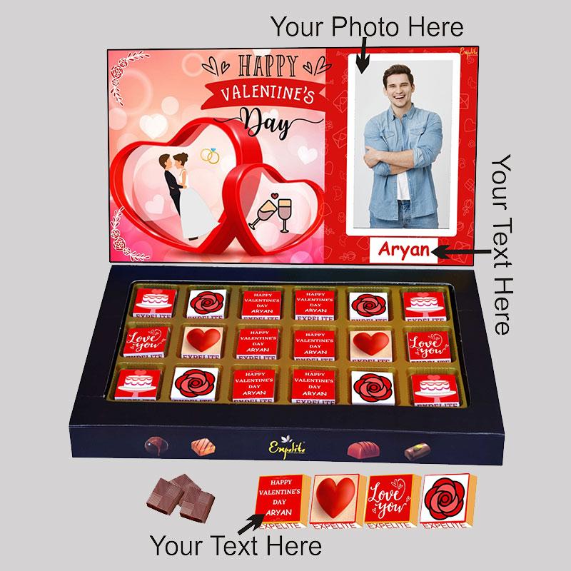 Love U Personalised Chocolates