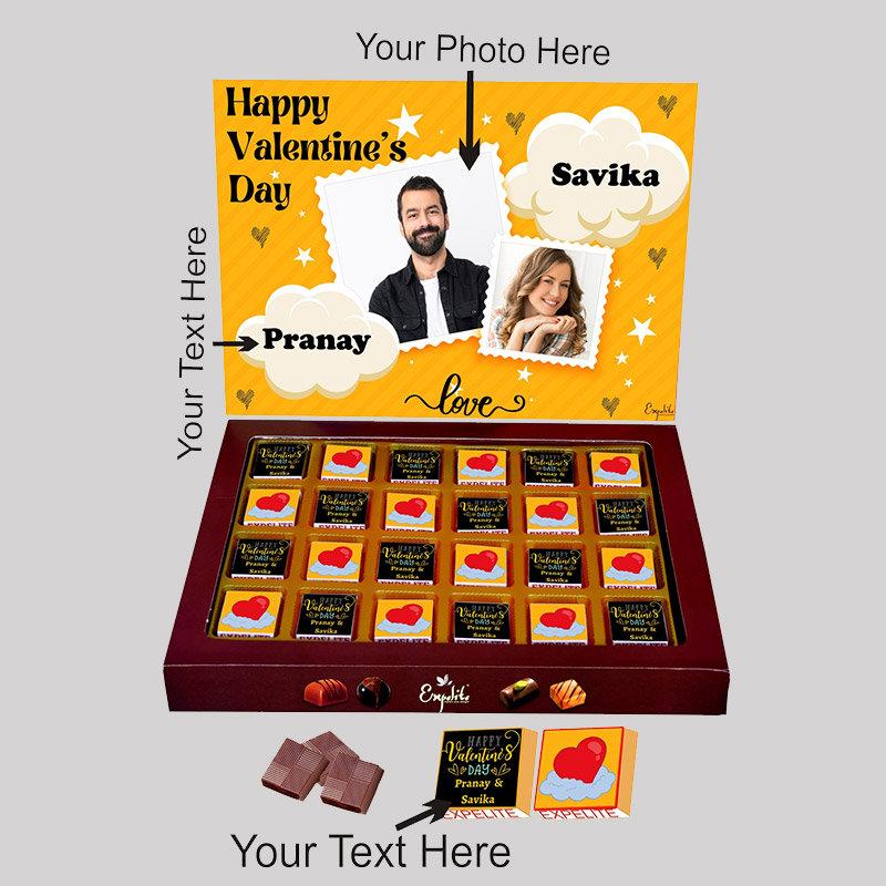 Love Valentine Love Chocolate