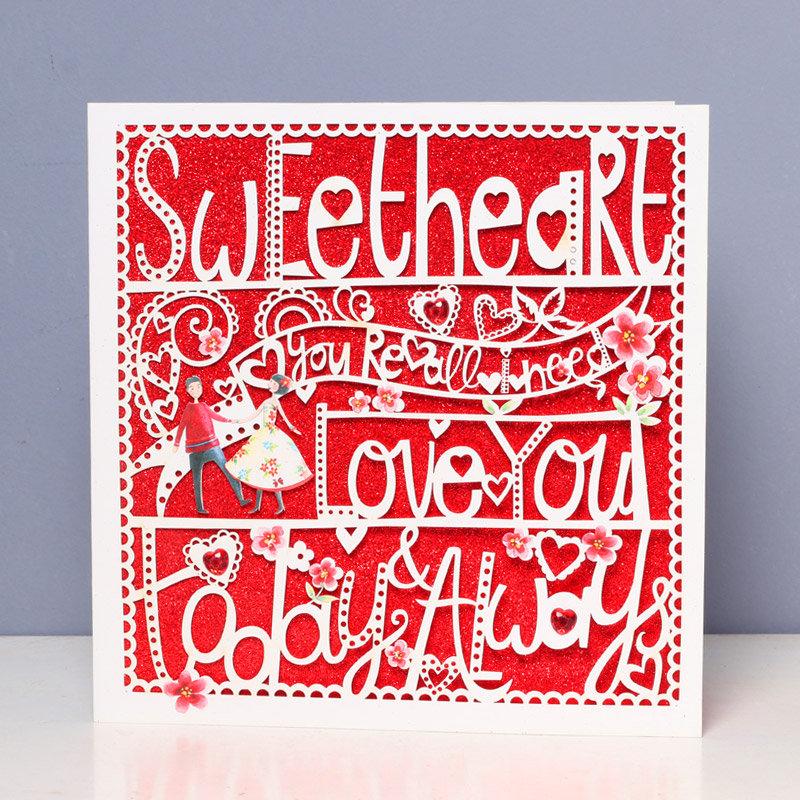 Love You Always Sweet Valentine Card