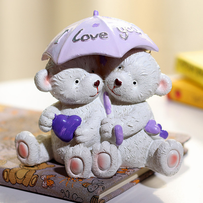 Valentines Couple Teddy Bear Gift for Your Love