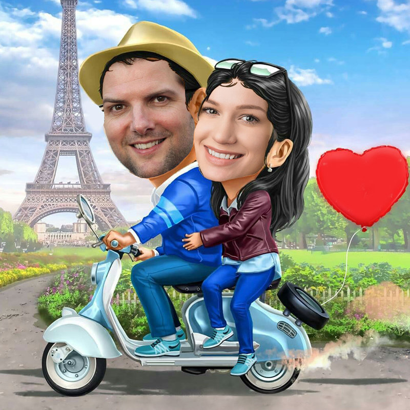 Caricature for Beautiful Couple