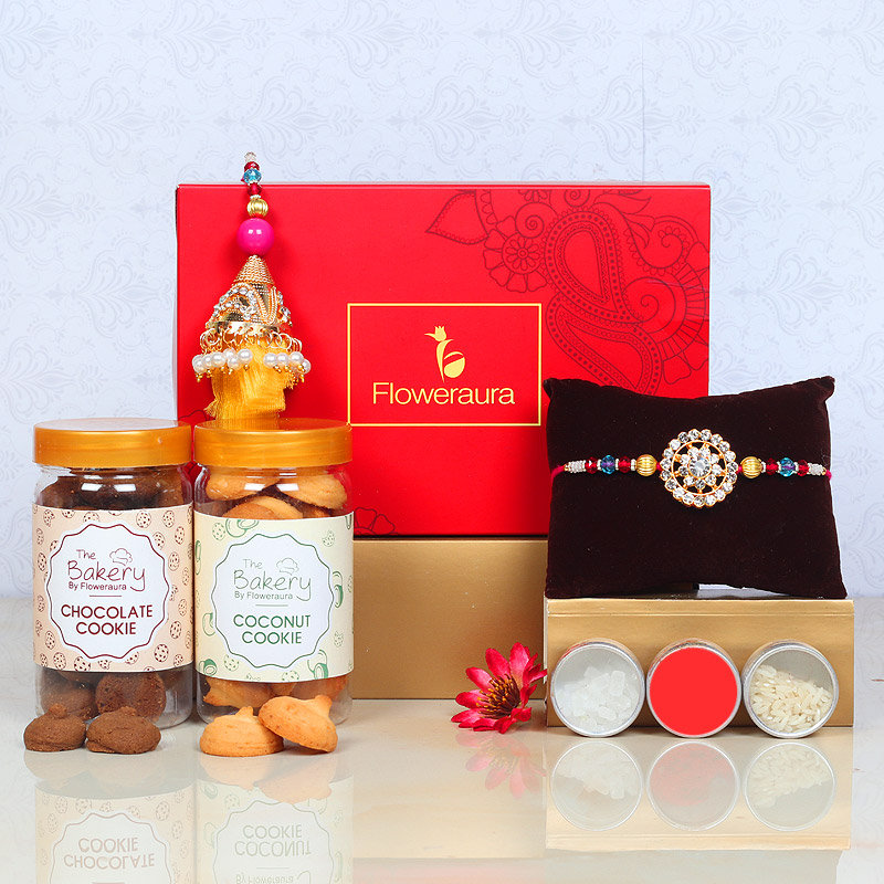 Lumba Rakhi Cookie Signature Box