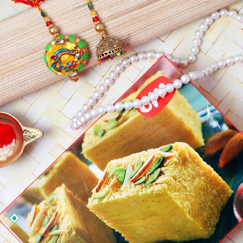 Lumba Rakhi Sweet Combo