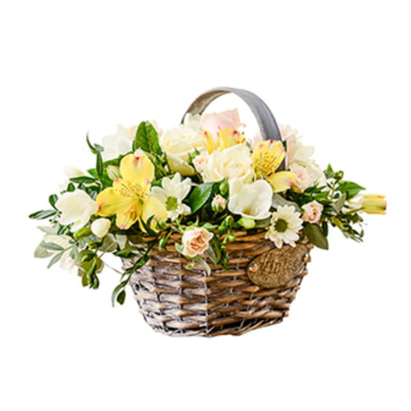 Lush Flower Basket