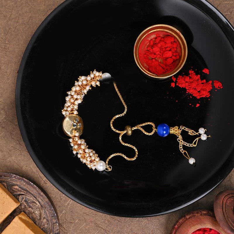 Majestic Designer Rakhi - One Bracelet Designer Rakhi