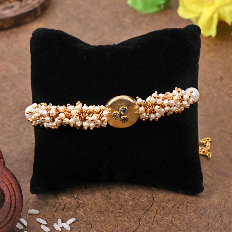 One Bracelet Designer Rakhi - Majestic Designer Rakhi