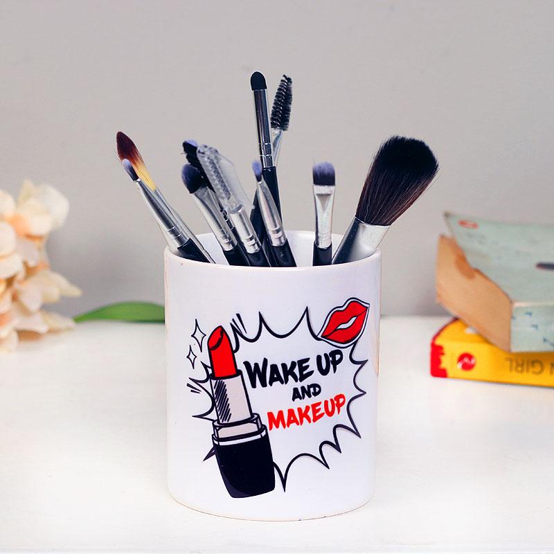 Makeup Love Mug - Printed White Ceramic Mug