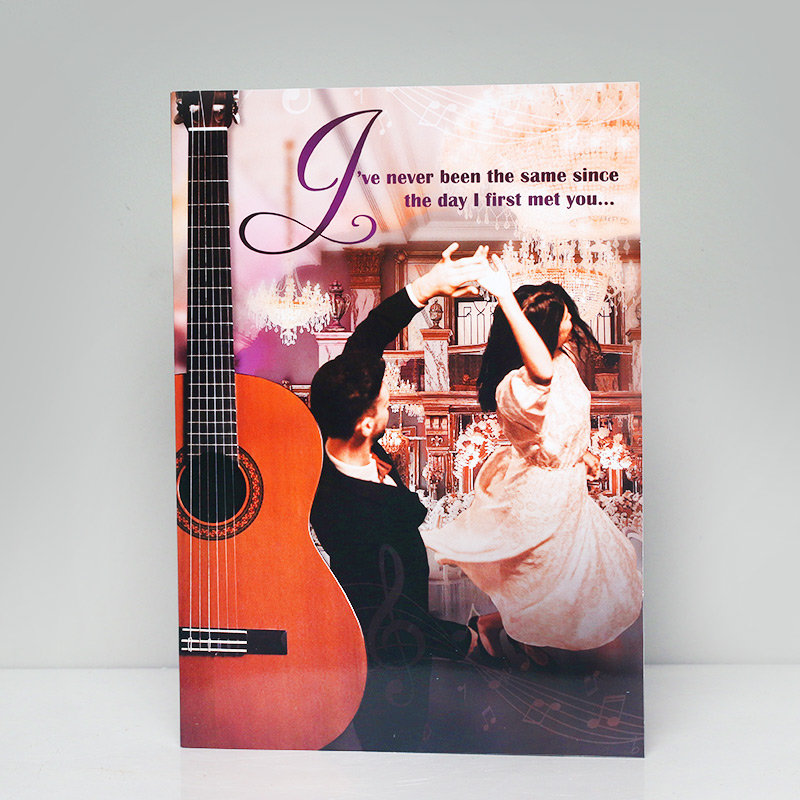 Melodious Love Card