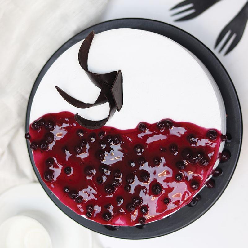 Order Online Melting Blueberry Cake