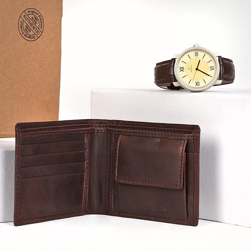 Men Watch N WalletA Premium Wallet