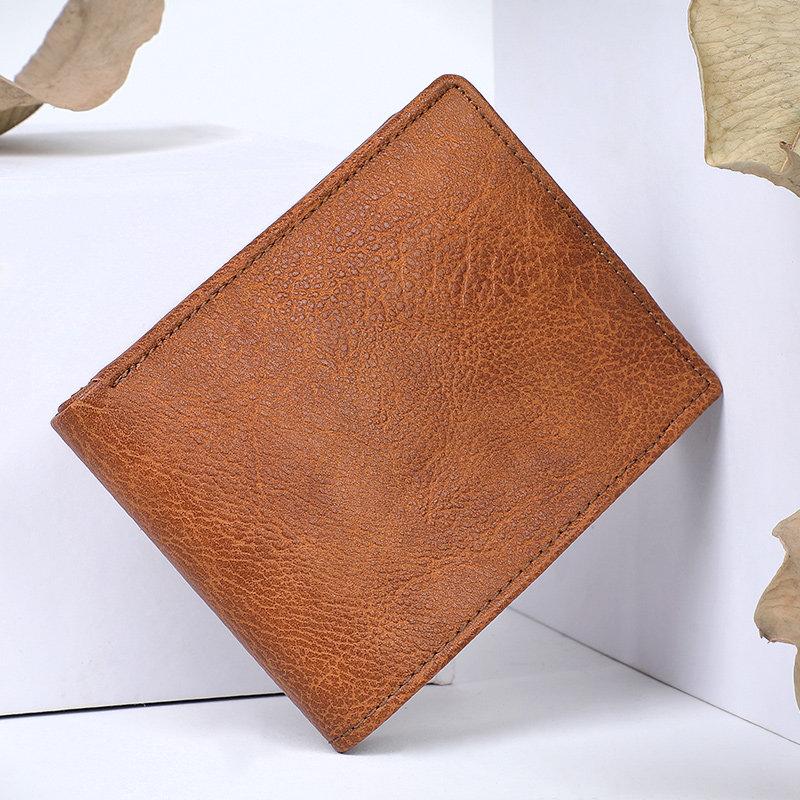 Mens Brown WalletA Premium Wallet With Rfid Protection