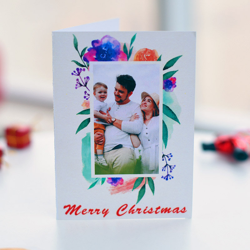 Merry Xmas Personalised Card