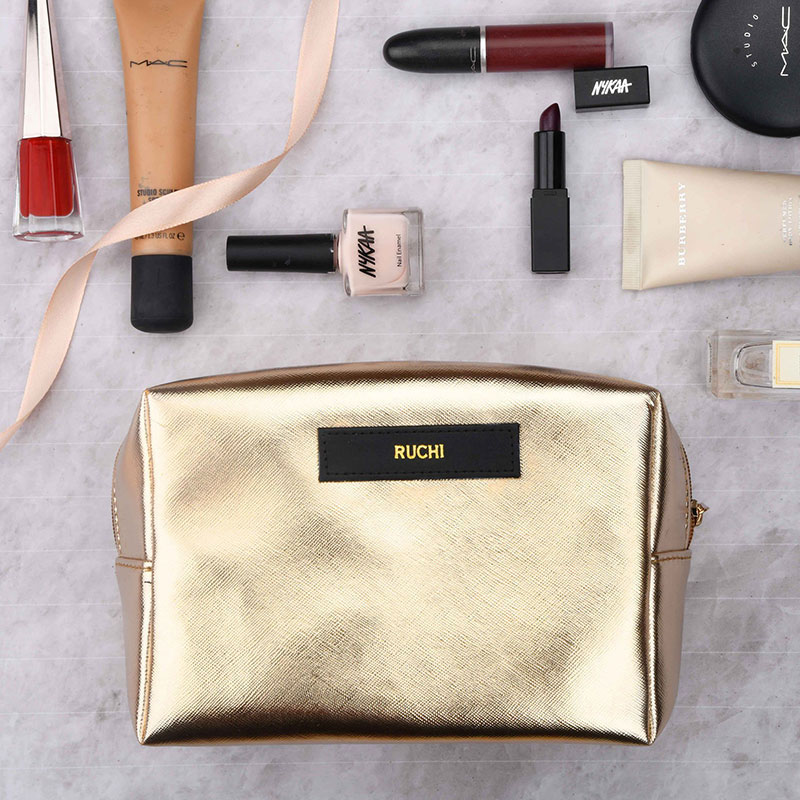 Metallic Gold Travel Kit