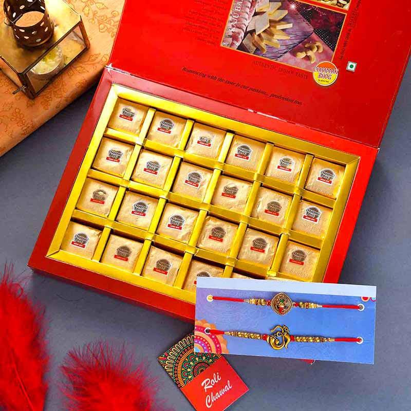Mewa Bites Rakhi Set