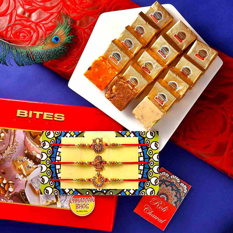 Mewa Bites Triple Rakhi