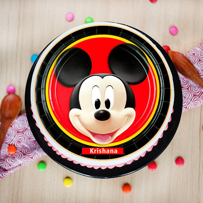 Mickey Mouse Poster Cake
