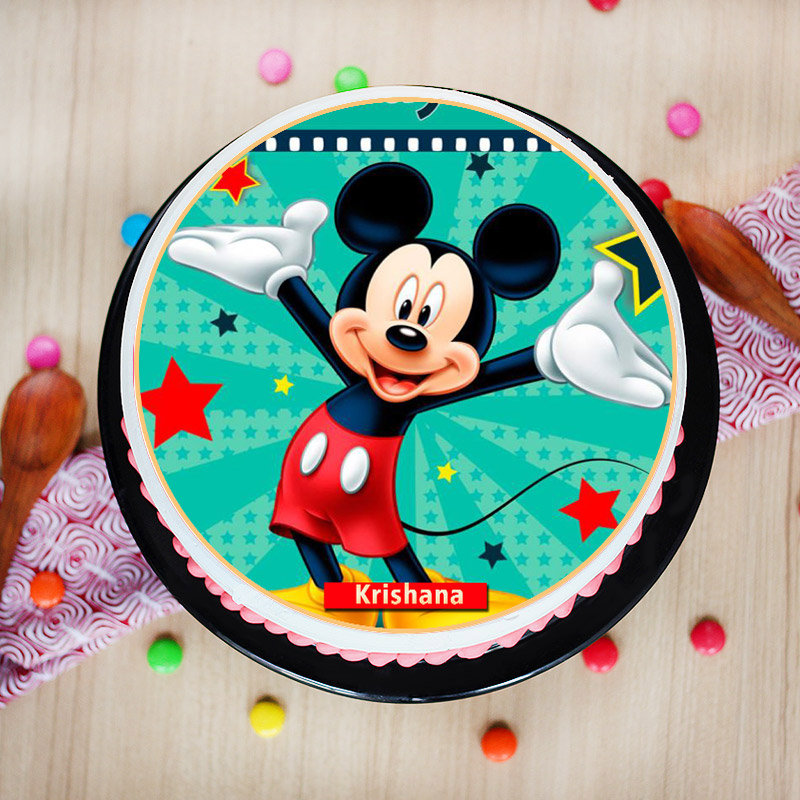 Mickey Poster Cake