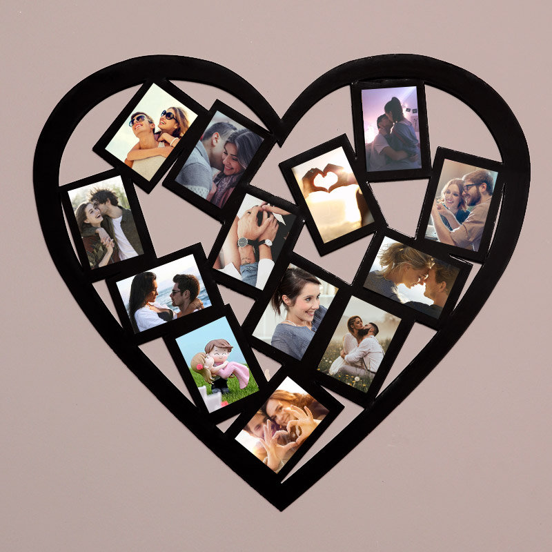 Mosaic Heart Photo Frame