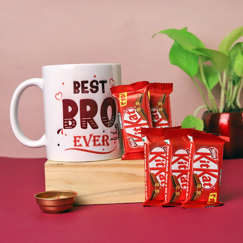 Mug Kitkat N Rakhi