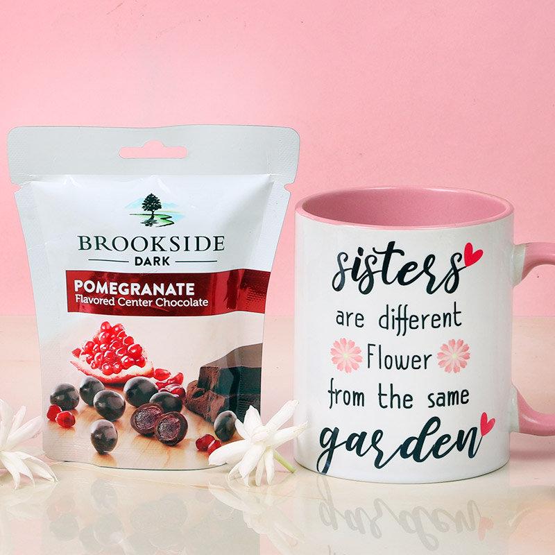 Mug and Pomegranate Choco Combo