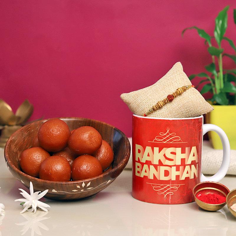 Mug N Sweets Rakhi For Bhai