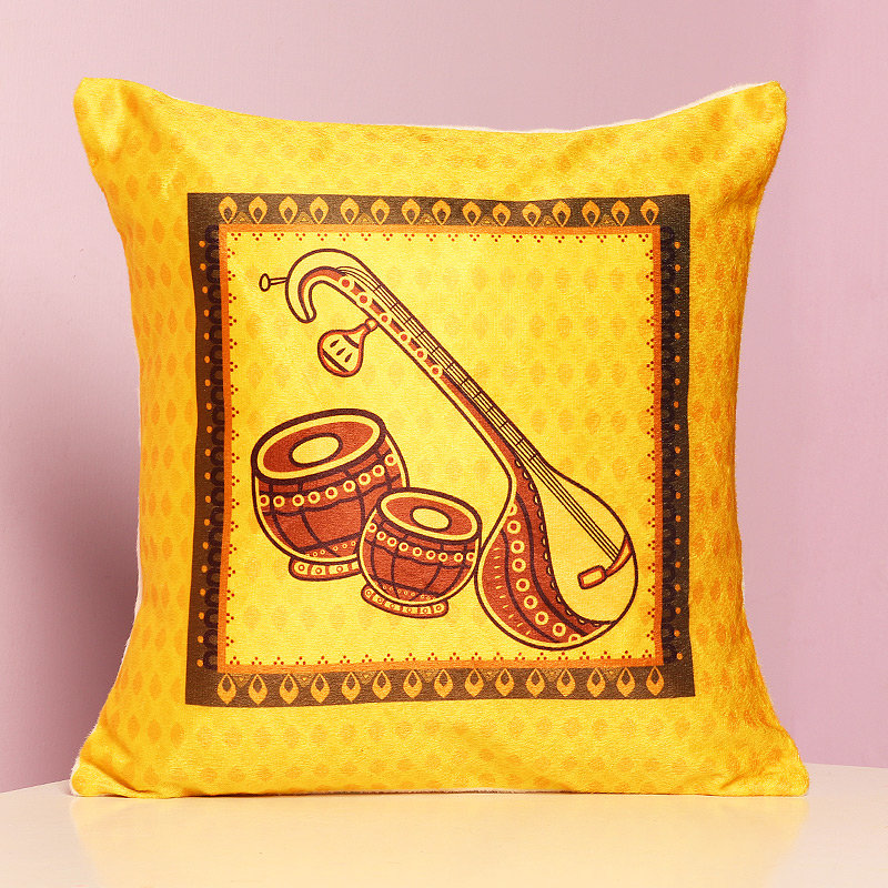 Printed Cushion for Music Lovers