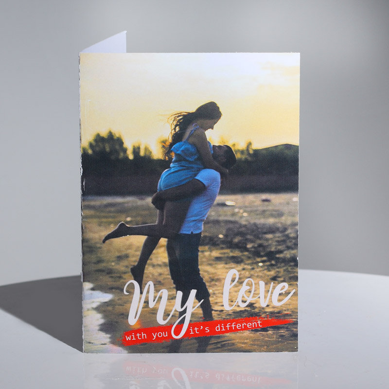 My Love For You Valentine Greeting Card