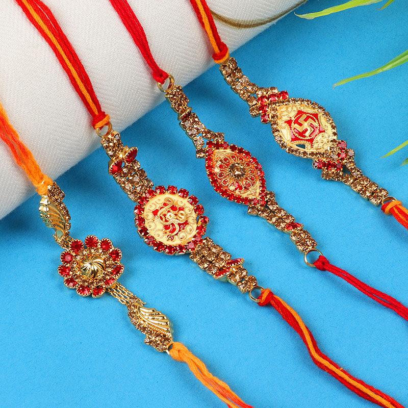 Glamorous Rakhi Set