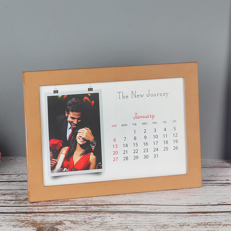 New Year Photo Calendar